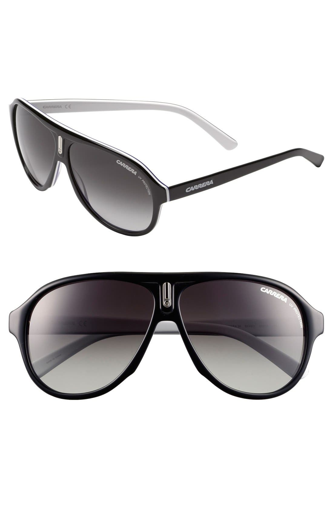 ,                             59mm Aviator Sunglasses,                             Main thumbnail 6, color,                             400