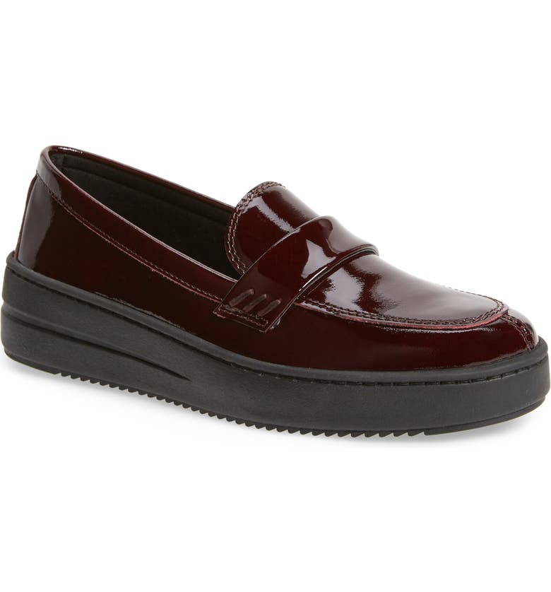 THE FLEXX No Loaf N Loafer, Main, color, BORDEAUX LEATHER