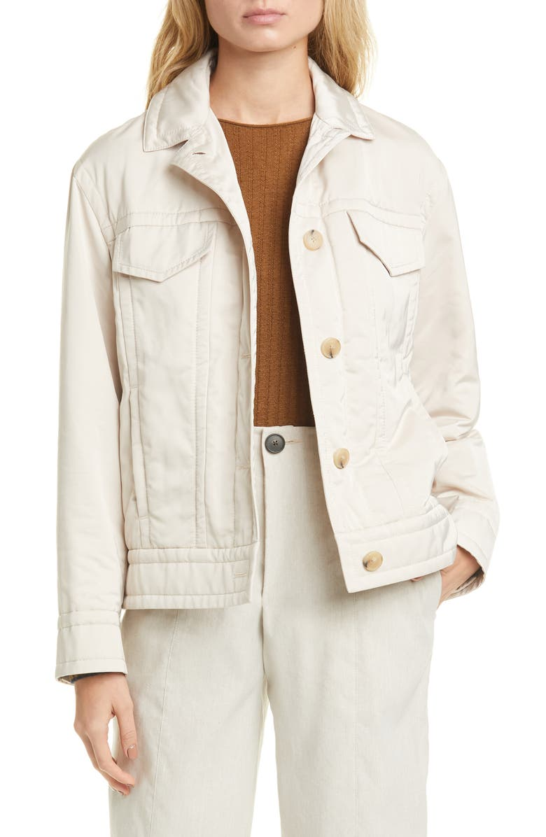 VINCE Insulated Jacket, Main, color, COBBLESTONE