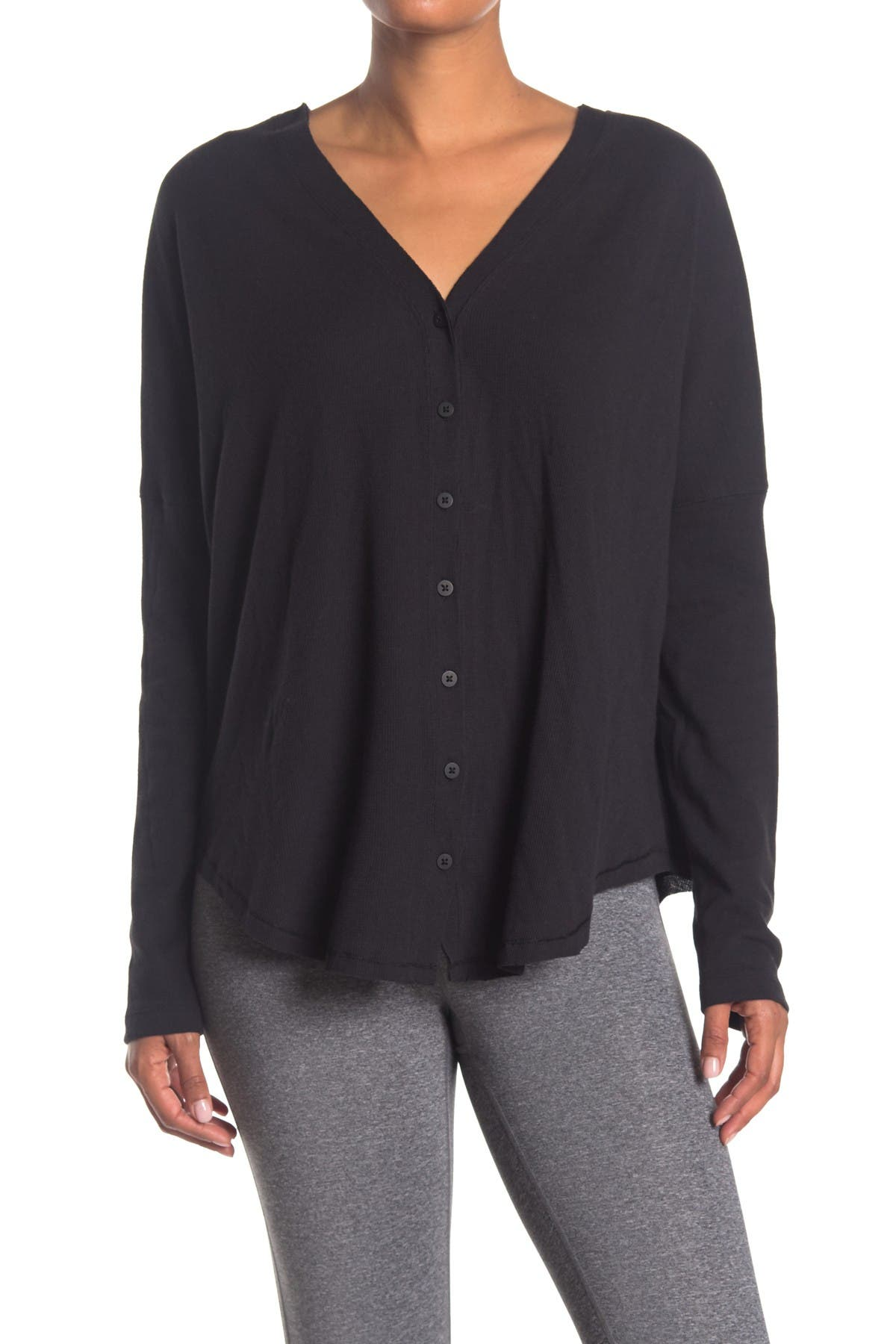 Image of X by Gottex Thermal Button Tie Top