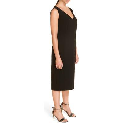 Plus Size Marina Rinaldi Divinita Convertible Sheath Dress, Black