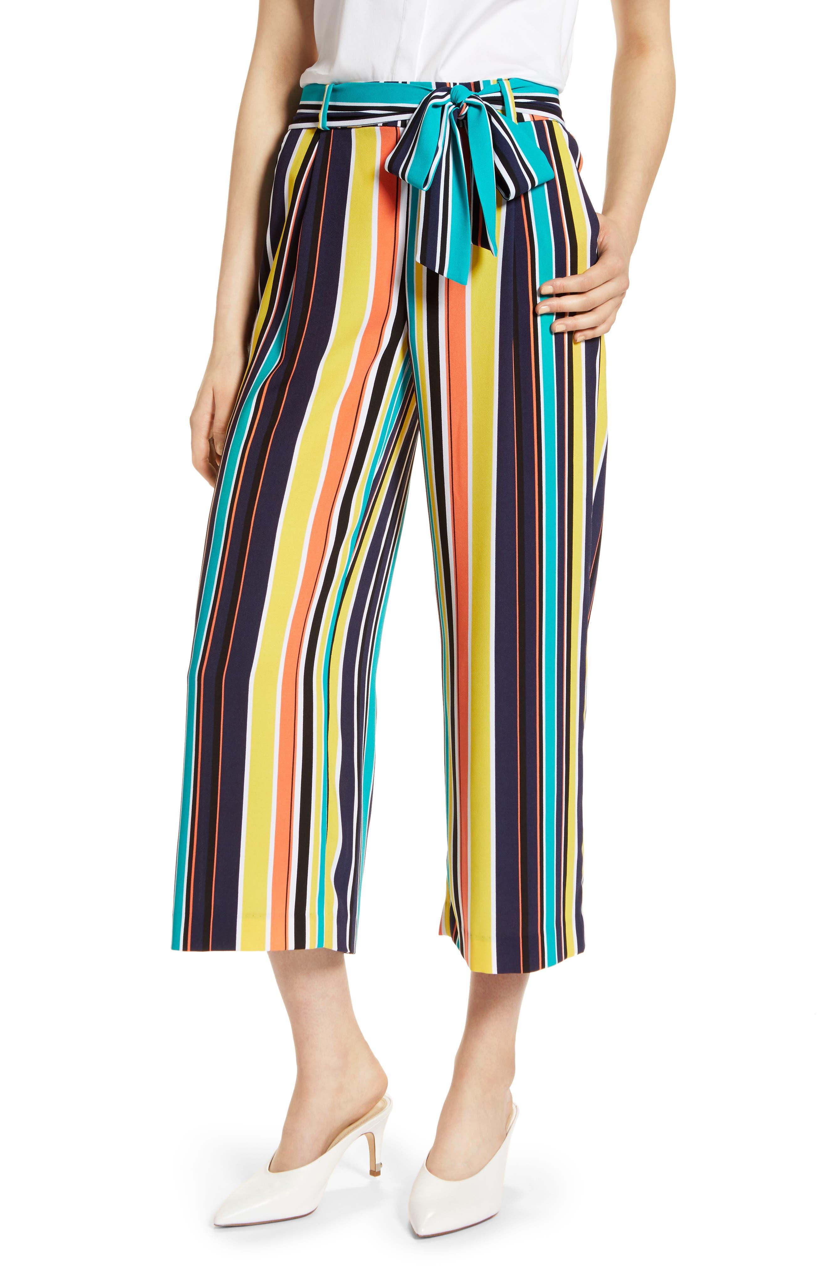 ,                             Wide Leg Crop Pants,                             Main thumbnail 52, color,                             412