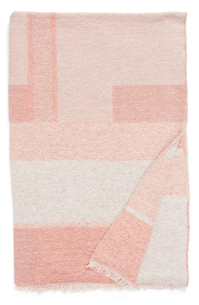 NORDSTROM at Home Geo Throw Blanket, Main, color, 650