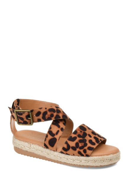 Image of JOURNEE Collection Trinity Espadrille Sandal
