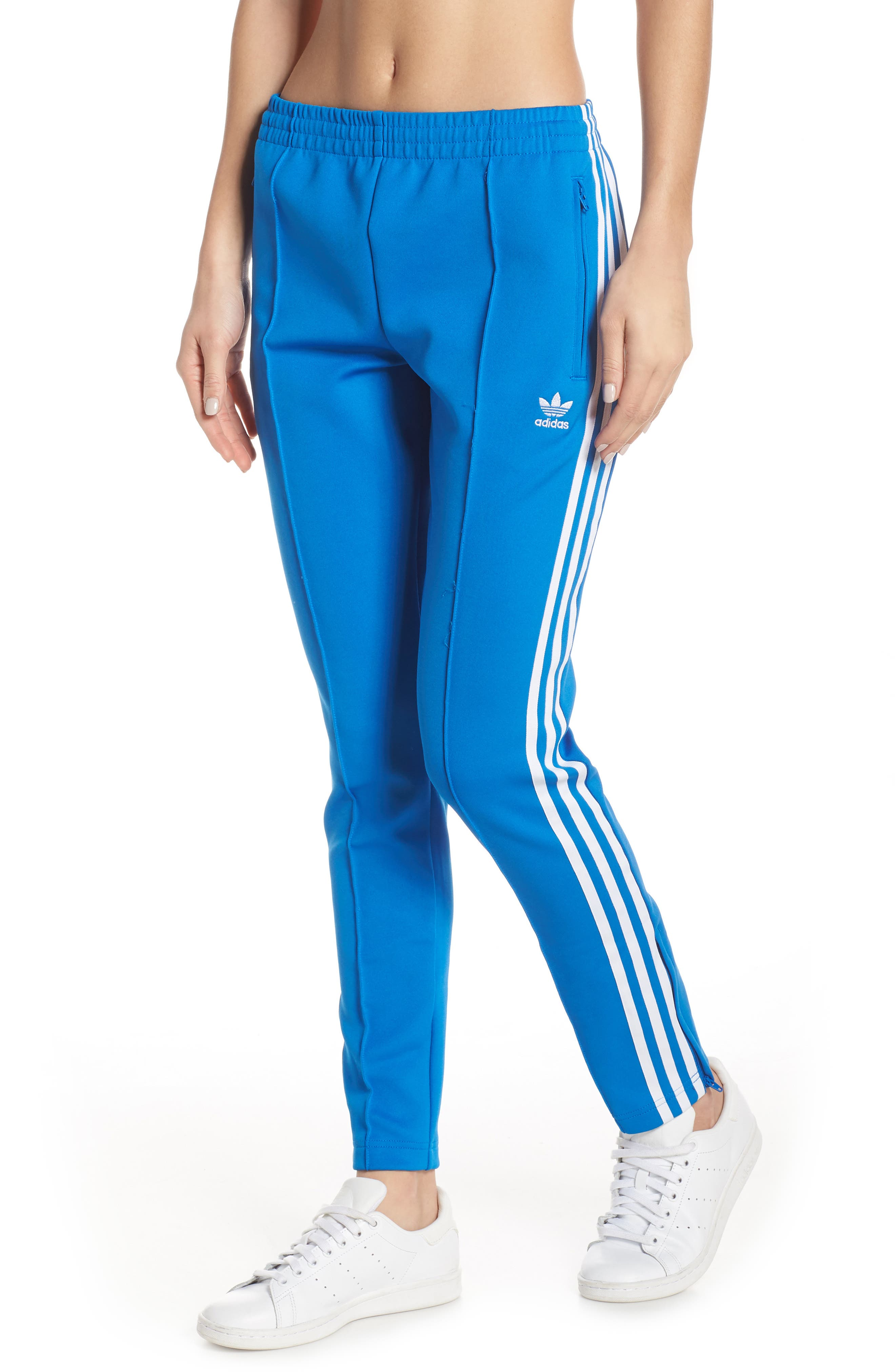 adidas SST Track Pants, Main, color, 430