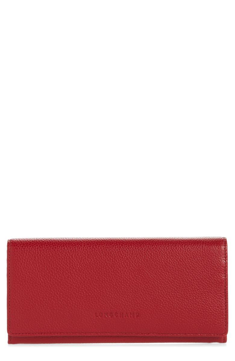 Longchamp Veau Foulonne Continental Wallet | Nordstrom