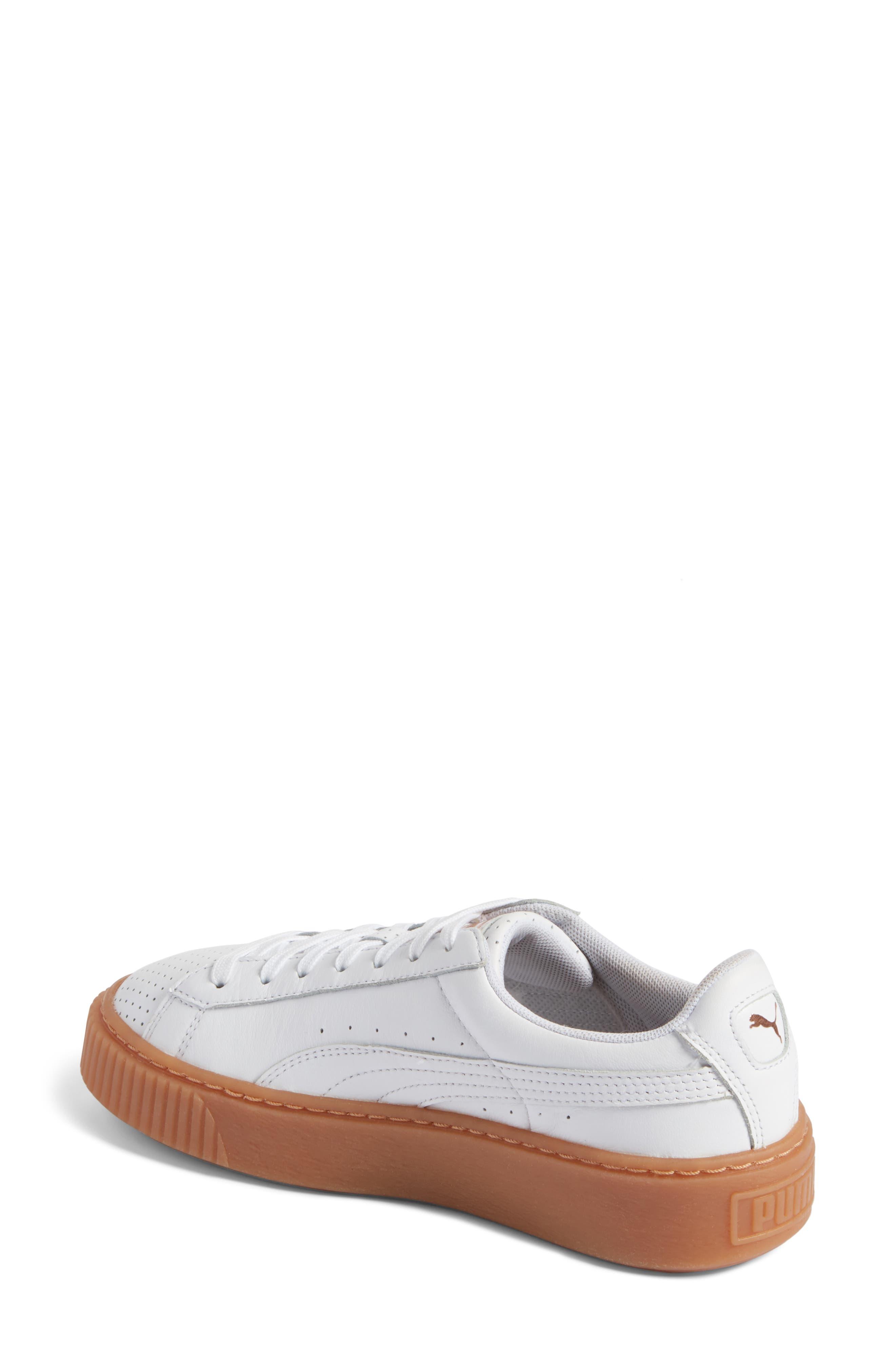,                             Basket Platform Sneaker,                             Alternate thumbnail 8, color,                             100