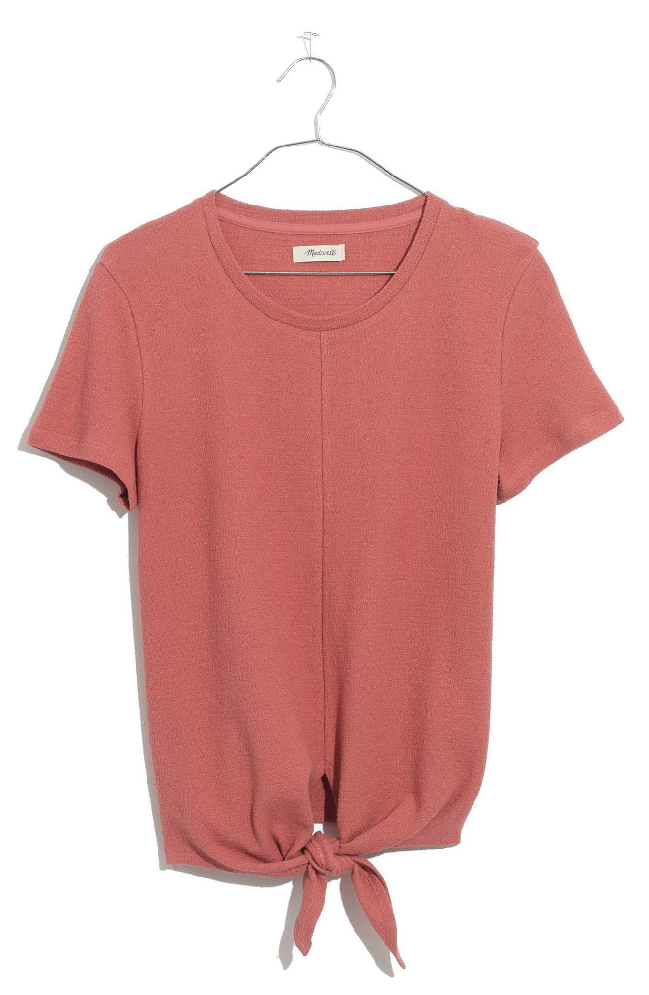 ,                             Modern Tie Front Tee,                             Alternate thumbnail 29, color,                             650