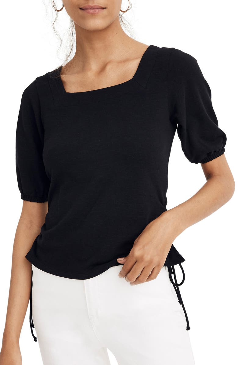 Square Neck Cinch Top by Madewell