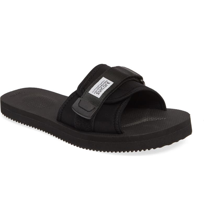 SUICOKE Padri Slide Sandal, Main, color, BLACK