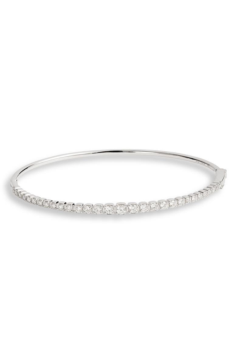 BONY LEVY Bardot Diamond Bracelet, Main, color, WHITE GOLD/ DIAMOND