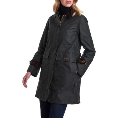 Barbour Icons Haydon Waxed Cotton Jacket, US / 10 UK - Green