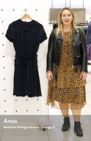 Ruffle Crinkled Chiffon Dress, sales video thumbnail