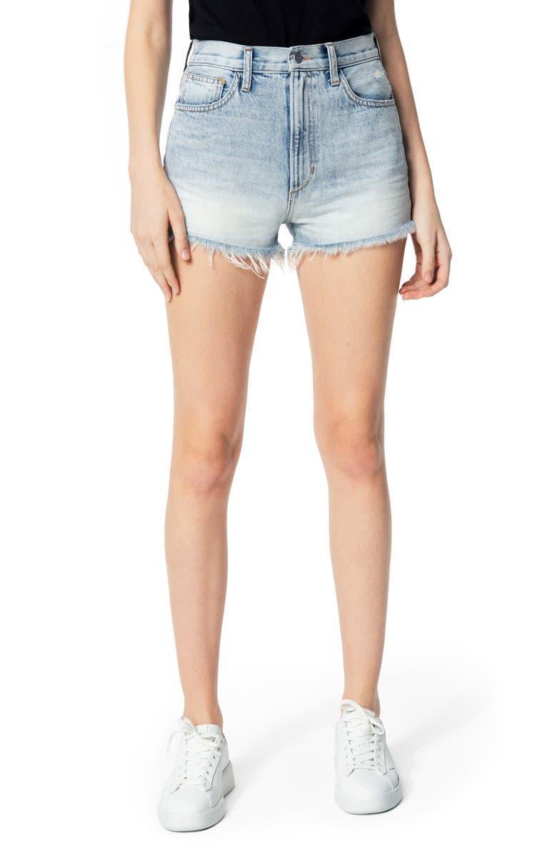 JOE'S High Waist Cutoff Denim Shorts, Main, color, CADENCE