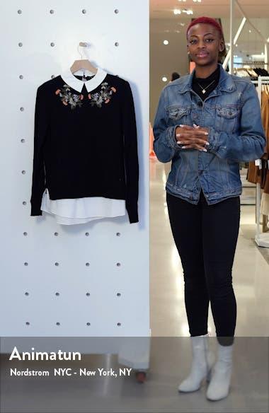 Natiley Highland Mock 2-Piece Sweater, sales video thumbnail