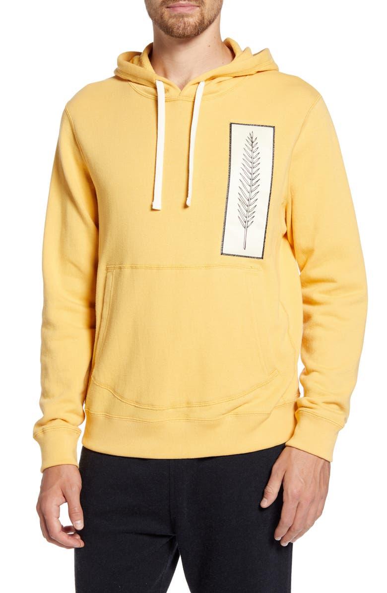 BILLY REID Ski Hoodie, Main, color, YELLOW