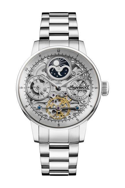 Image of INGERSOLL WATCHES Men's Jazz Automatic Bracelet Watch, 42mm