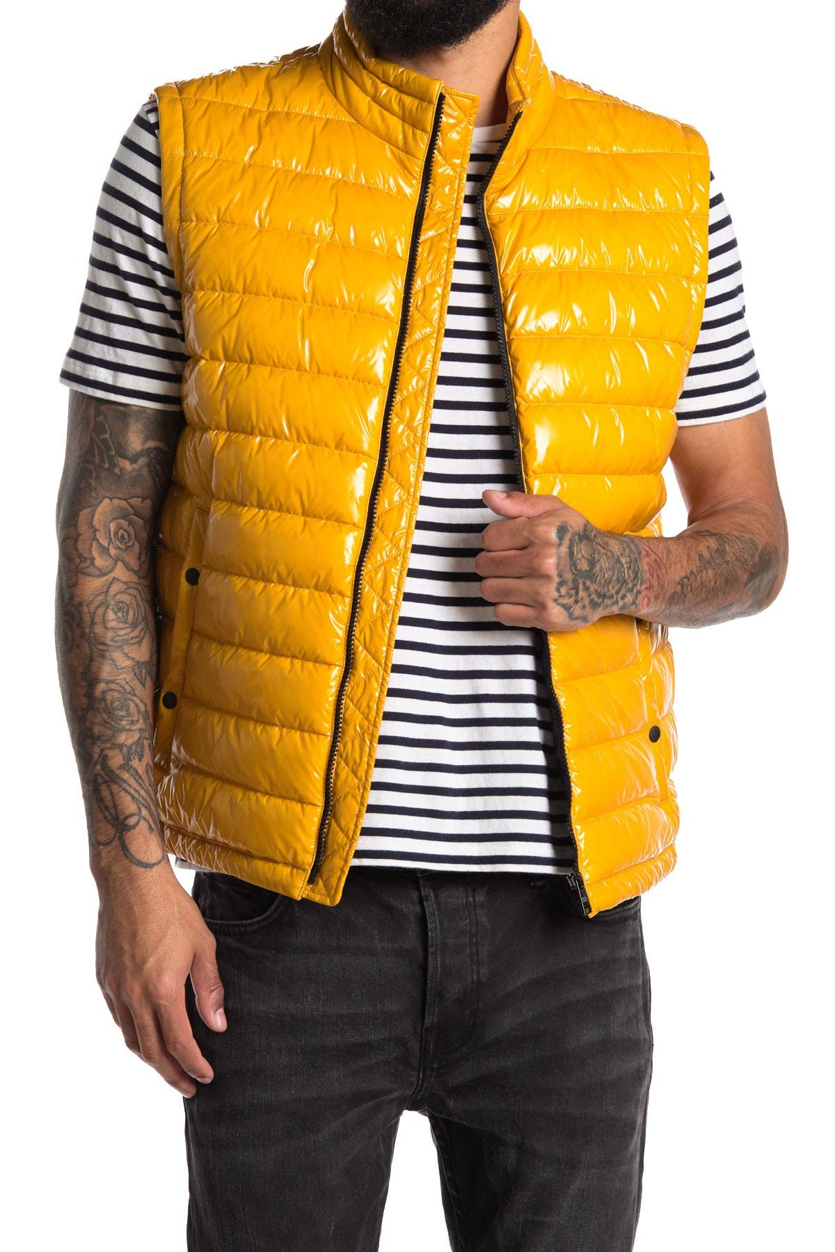 Image of BOSS Cilla Quilted Vest