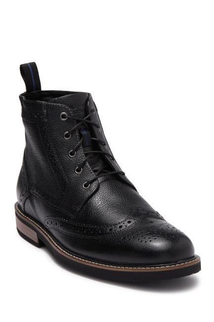 Image of NUNN BUSH Odell Leather Wingtip Chukka Boot - Wide Width Available