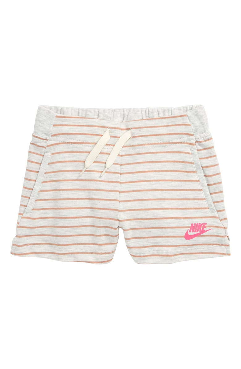 NIKE Sportswear Stripe Shorts, Main, color, 222