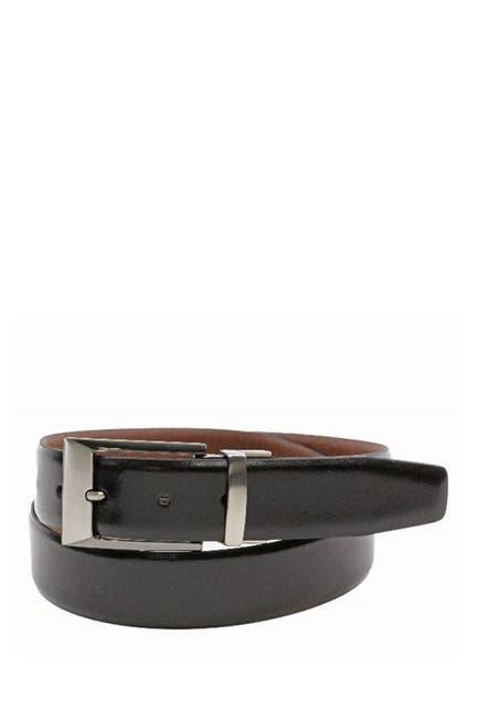 Image of BOSCA Reversible 35mm Sheen/Matte Leather Belt