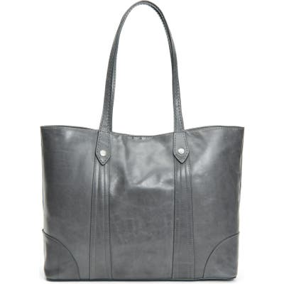 Frye Melissa Leather Shopper - Grey