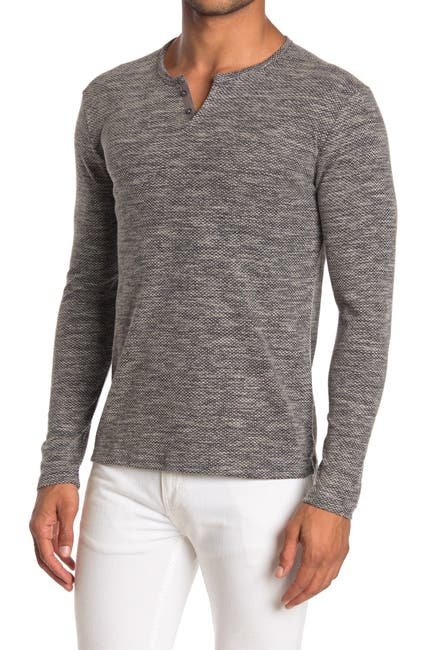 Image of WRK Spruce Textured Henley