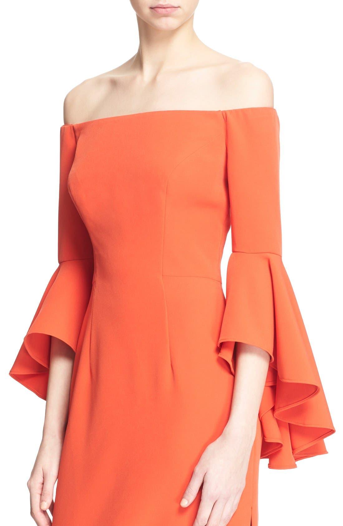 ,                             Selena Off the Shoulder Midi Dress,                             Alternate thumbnail 59, color,                             803