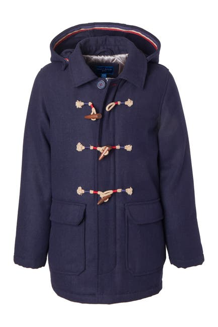 Image of Perry Ellis Duffle Toggle Coat