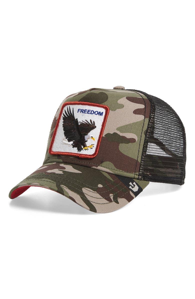 GOORIN BROS. Freedom Trucker Hat, Main, color, 314