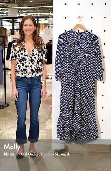 Dawn Floral Long Sleeve Dress, sales video thumbnail