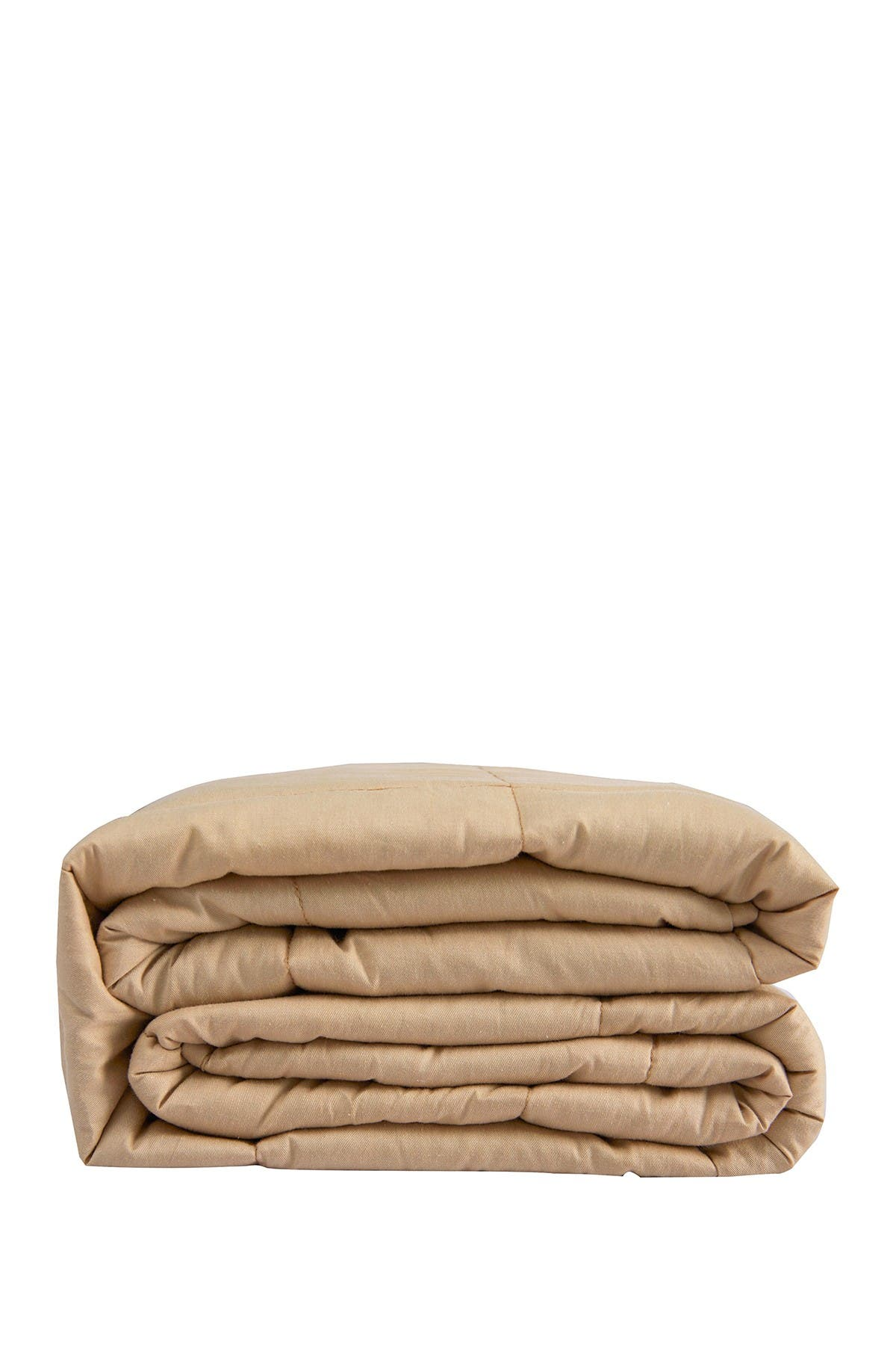 """Image of PUR SERENITY 20 lbs Cotton Weighted Blanket 48""""x 72""""- Tan"""