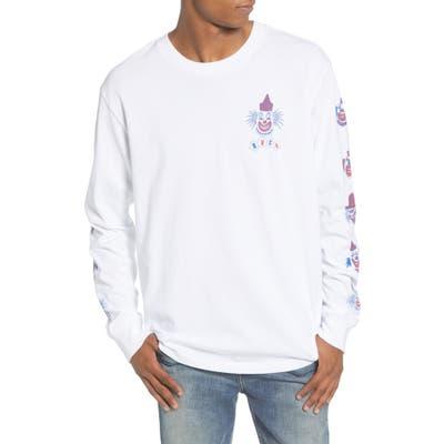 Rvca Big Top Long Sleeve T-Shirt, White