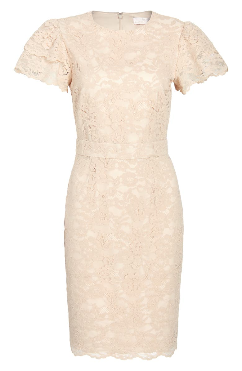 RACHEL PARCELL Lace Sheath Dress, Main, color, 260