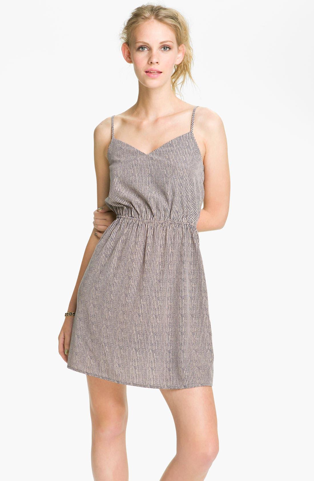 ,                             Print Dress,                             Main thumbnail 4, color,                             410