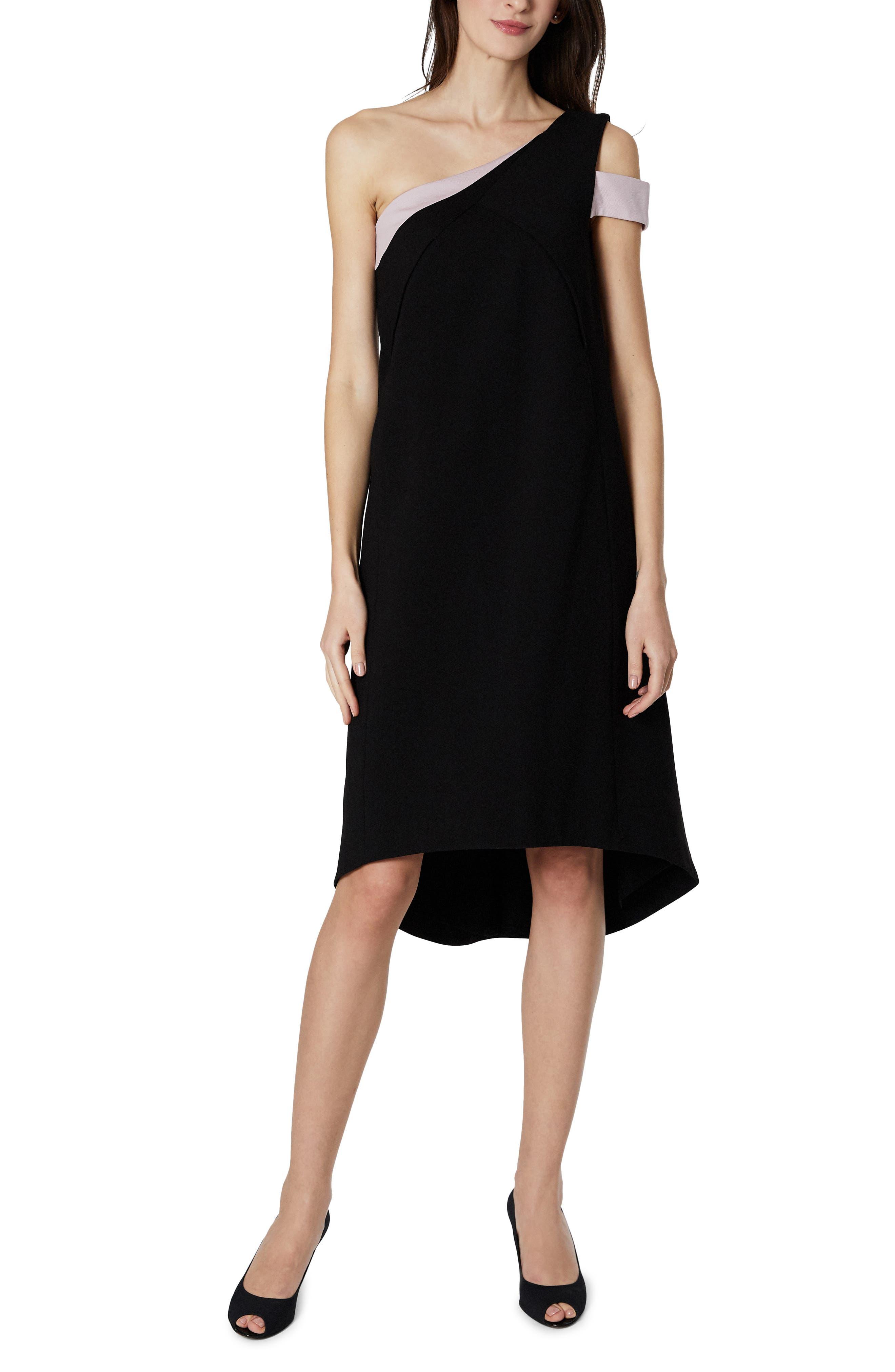 Karolina One-Shoulder Maternity/nursing Dress