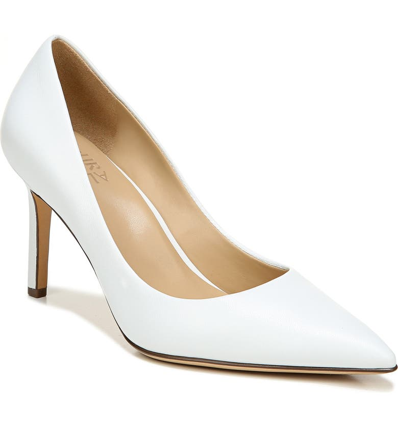 NATURALIZER Anna Pump, Main, color, WHITE LEATHER