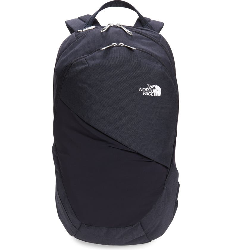 THE NORTH FACE 'Isabella' Backpack, Main, color, AVIATOR NAVY LT HTR/ TNF WHT