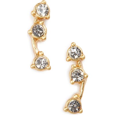 Madewell Gemline Stud Earrings