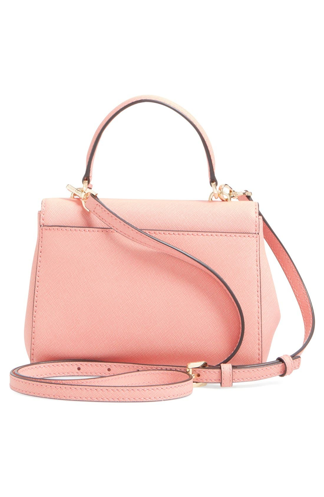 ,                             'Extra Small Ava' Leather Crossbody Bag,                             Alternate thumbnail 19, color,                             650