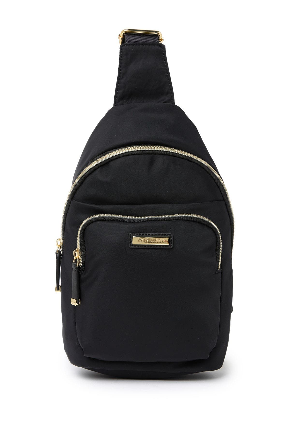 Image of Calvin Klein Nylon Crossbody Backpack