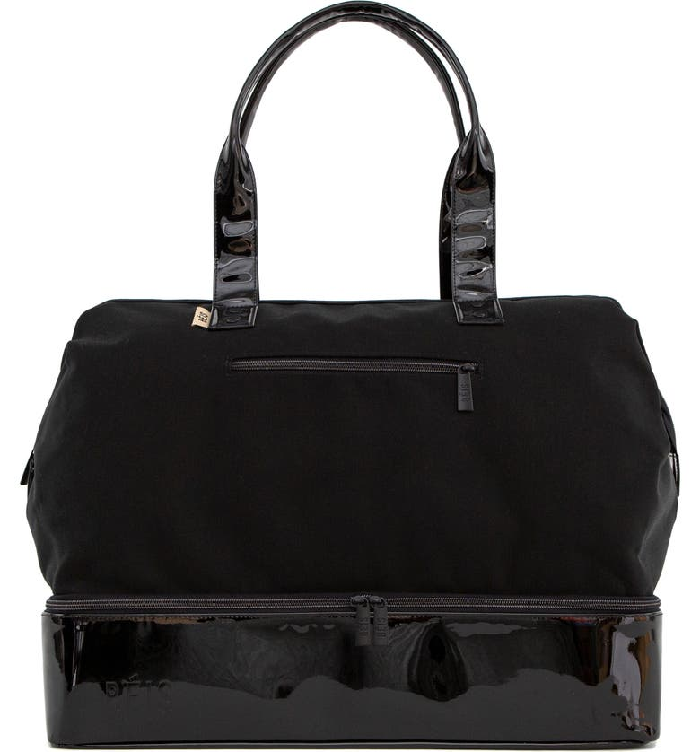 BÉIS The Weekend Patent Travel Tote, Main, color, 001