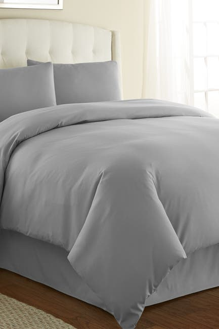 Image of SOUTHSHORE FINE LINENS King/California King Southshore Fine Linens Vilano Springs Duvet Cover Sets - Steel Gray