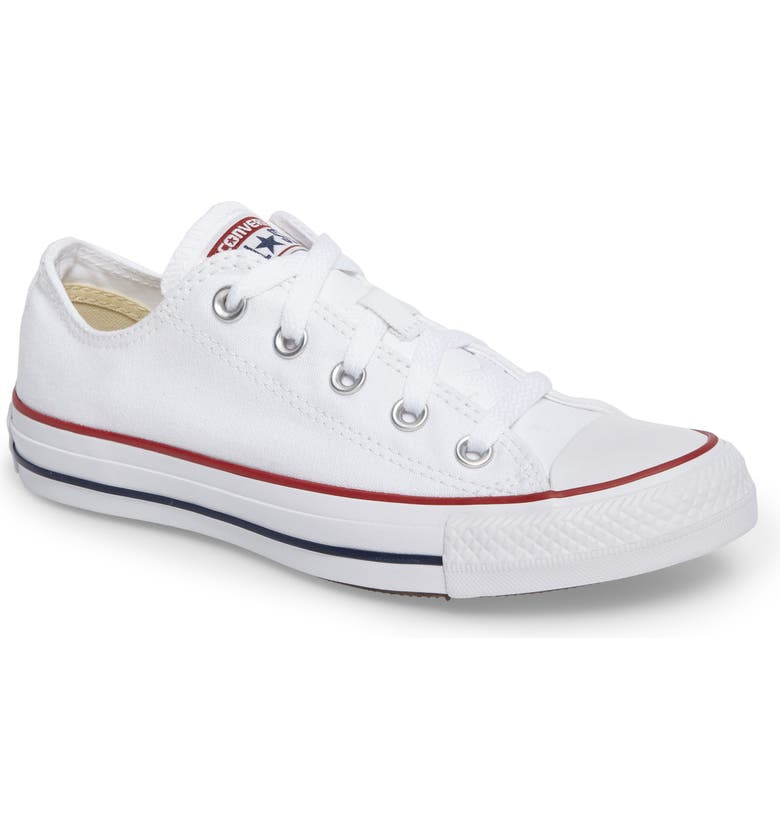 CONVERSE Chuck Taylor<sup>®</sup> Low Sneaker, Main, color, 100
