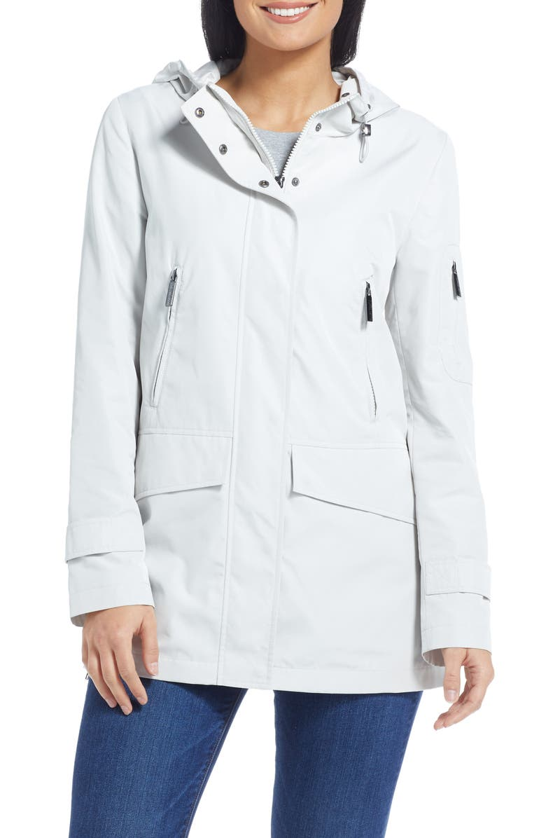 ELLEN TRACY Hooded Parka, Main, color, 020