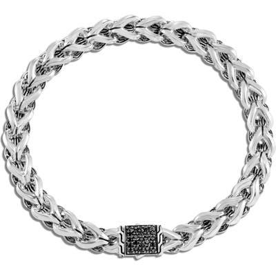 John Hardy Asli Classic Chain Black Sapphire Bracelet
