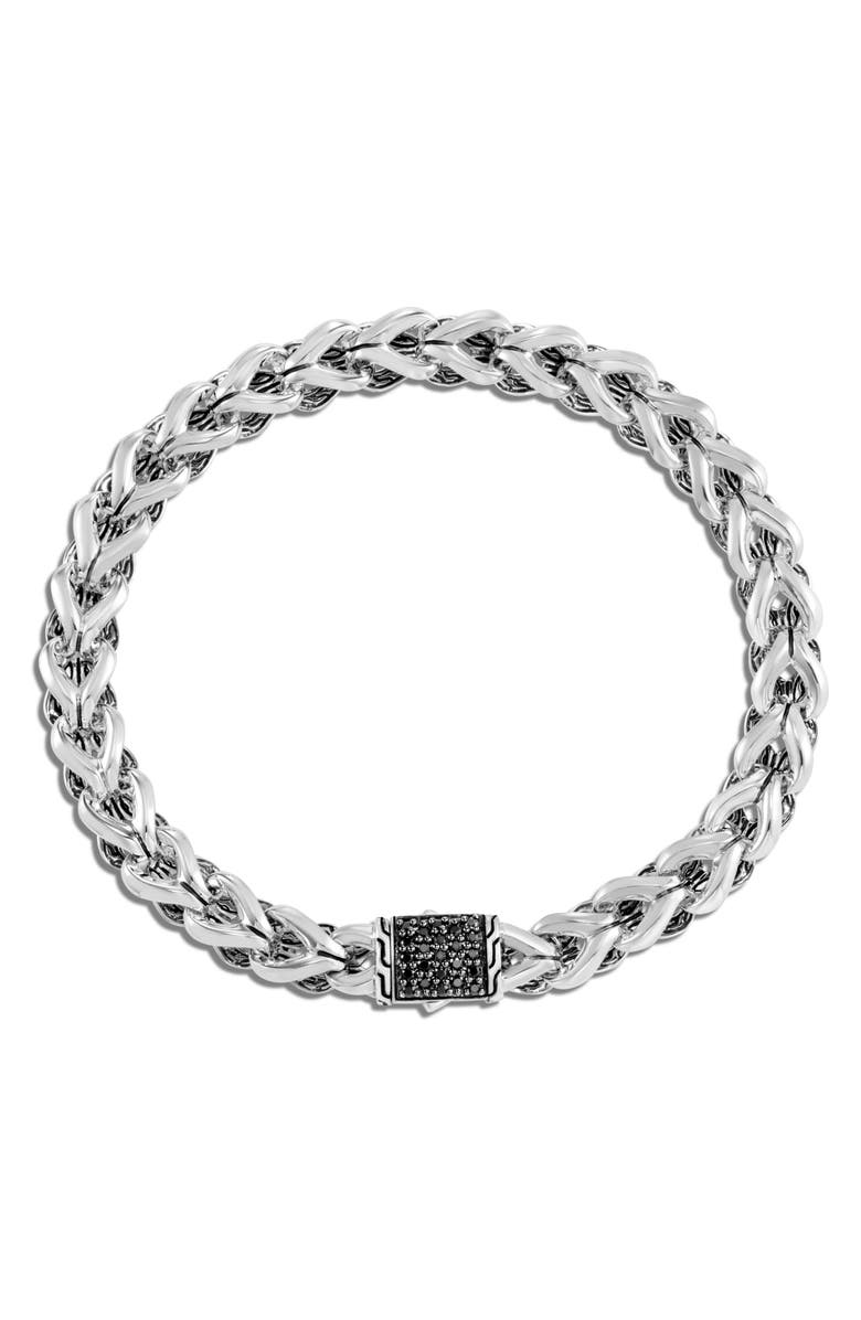 JOHN HARDY Asli Classic Chain Black Sapphire Bracelet, Main, color, BLACK SAPPHIRE