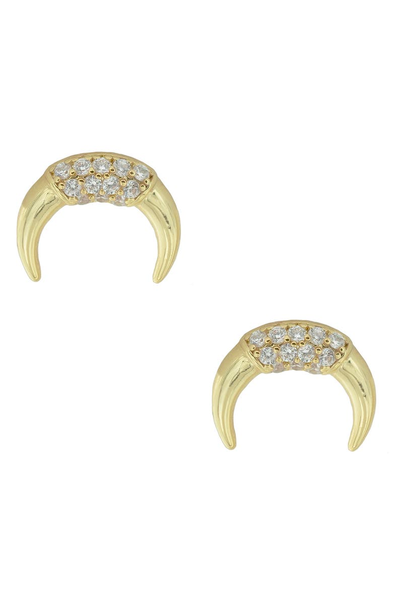 UNCOMMON JAMES BY KRISTIN CAVALLARI Skyline Stud Earrings, Main, color, GOLD