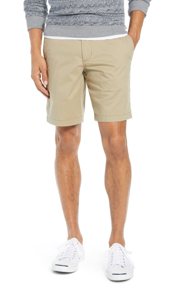 1901 Ballard Slim Fit Stretch Chino 9-Inch Shorts, Main, color, 230