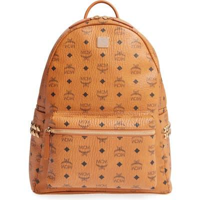 Mcm Medium Stark Visetos Coated Canvas Backpack -